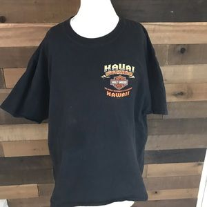 Harley Davidson kauai Hawaii graphic t men's Xl